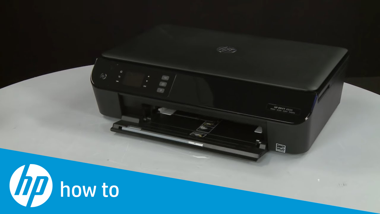 Printing A Test Page Hp Envy 4500 E All In One Printer