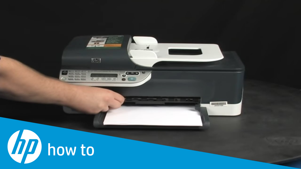 Printing A Test Page Hp Officejet J4680 All In One
