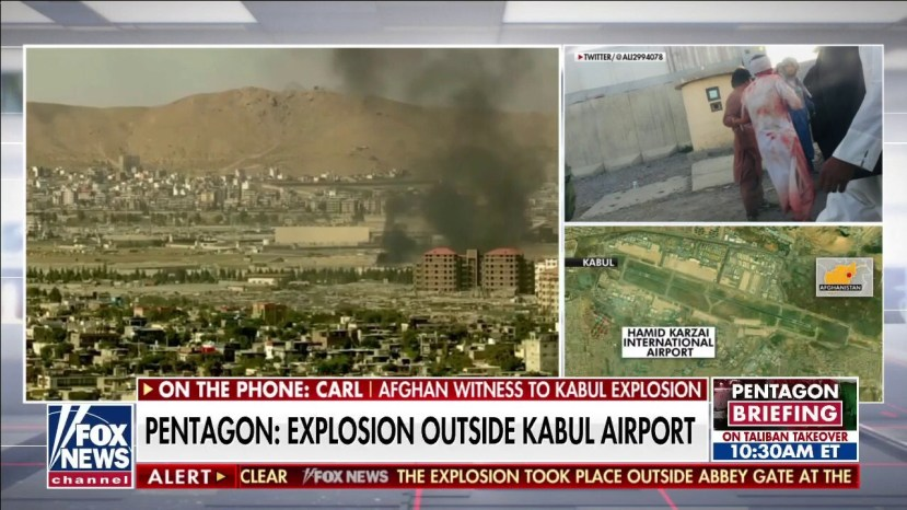 US officials describe suicide bombing, 'complex attack' at Kabul airport    On Air Videos   Fox News