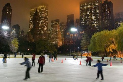 Empire State Building + Ice Skating at Wollman Rink in Central Park