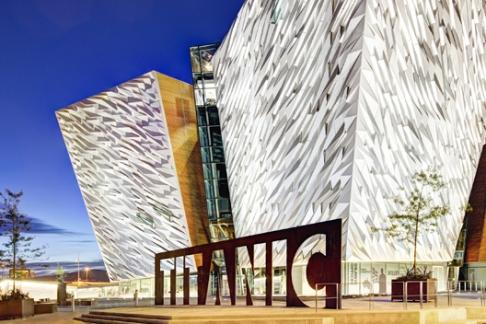 Titanic Belfast and SS Nomadic