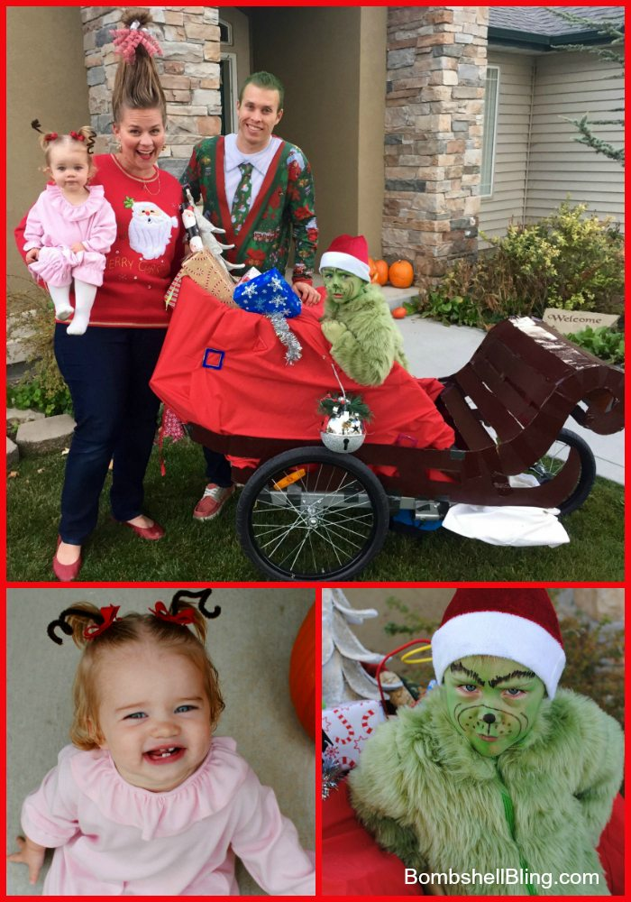 The Grinch Amp Cindy Lou Who Halloween Costumes
