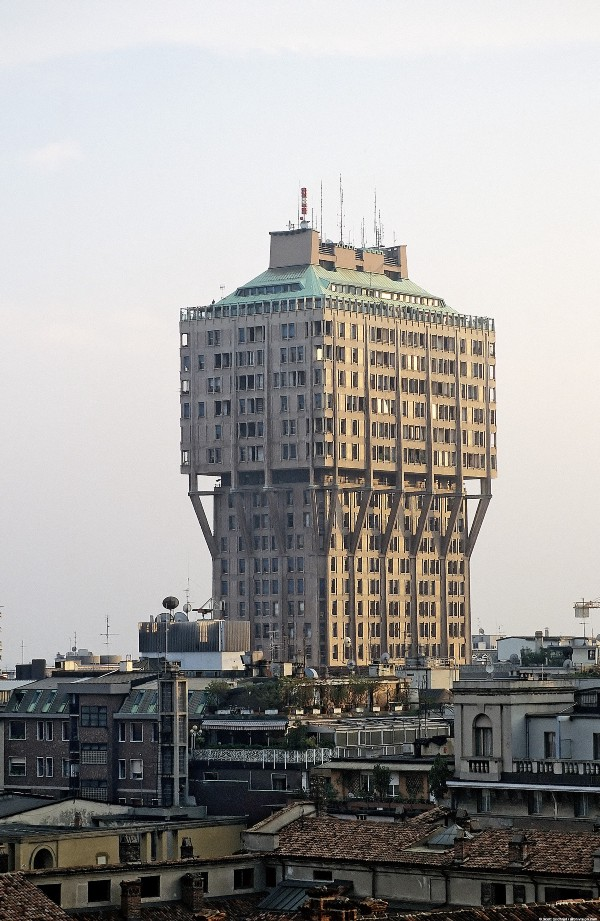 The Torre Velasca in Milan