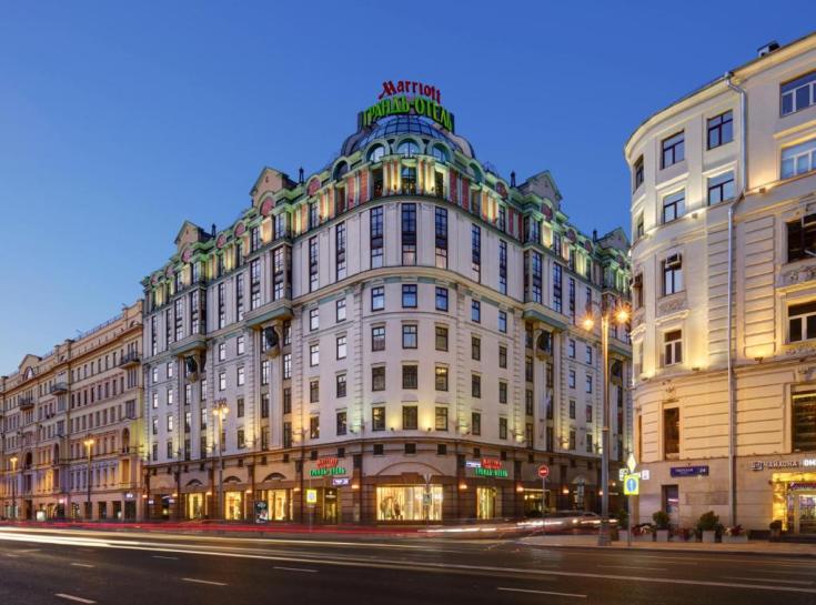 Отель Марриотт Москва Гранд, Москва - обновленные цены 2021 года