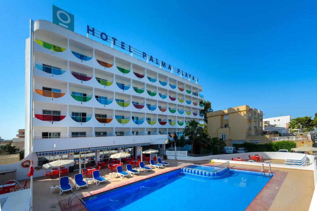 hotel playasol palma cactus spanien