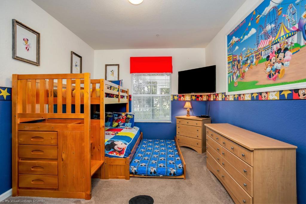 Disney Bunk Room Windsor Hills Orlando Updated 2020 Prices