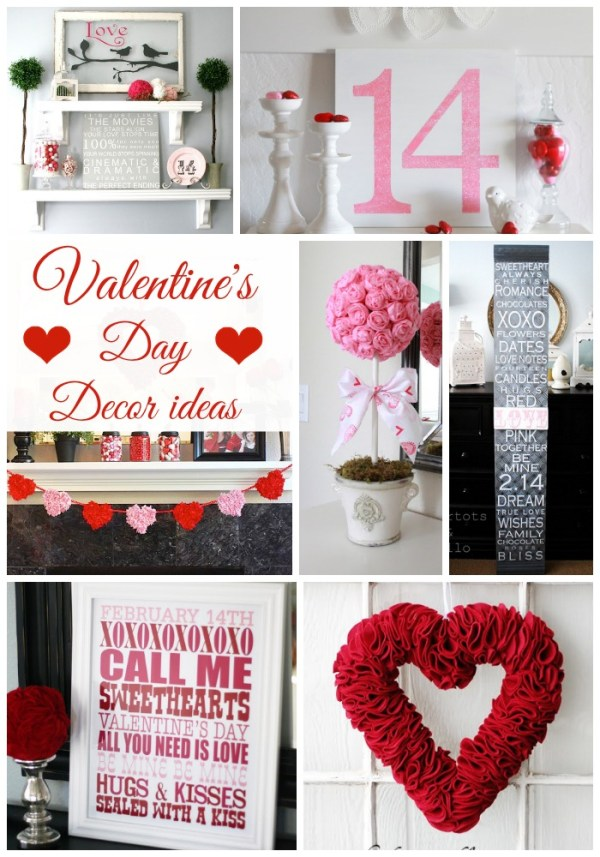 Valentine's Day Decor Ideas - Classy Clutter