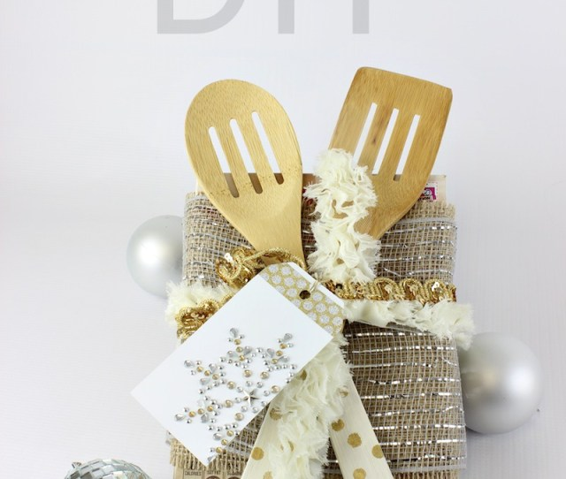 Diy Serving Utensils And Bakers Gift Idea Www Classyclutter Net