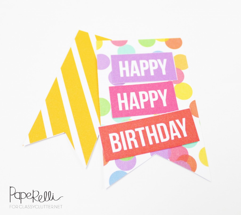 Diy Birthday Gift Tags Classy Clutter