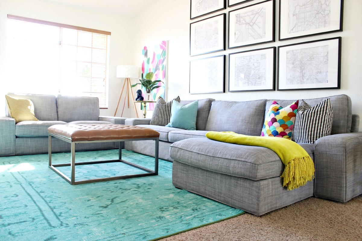 Mallory's (rental) Home Tour - Goodbye to Sericin Circle ... on Colourful Living Room  id=37415