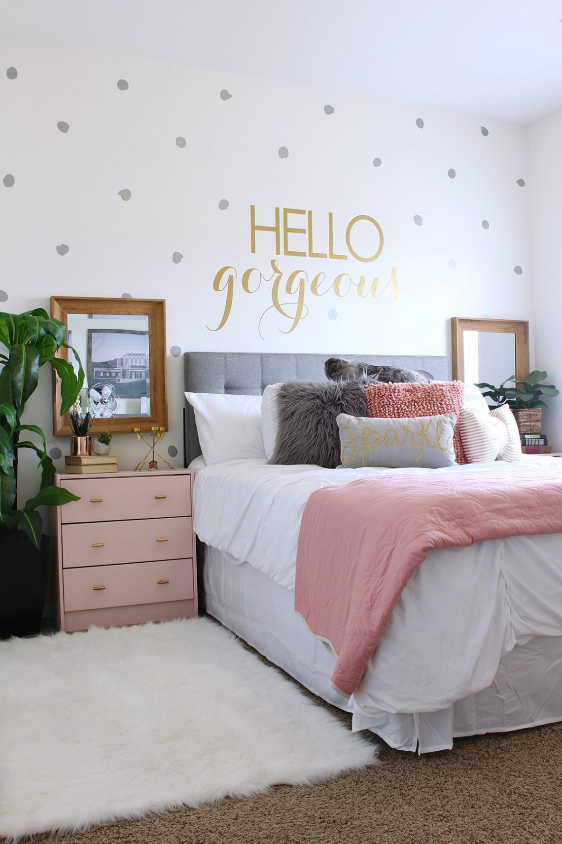 Surprise Teen Girl's Bedroom Makeover - Classy Clutter on Teen Room Girl  id=89147