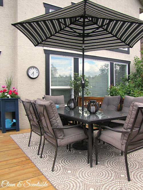 Summer Patio Ideas - Clean and Scentsible on Patio Top Ideas id=89776