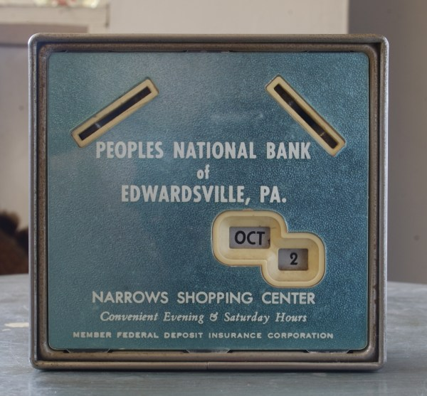 Gerret Calendar Bank...Peoples' National Bank of ...