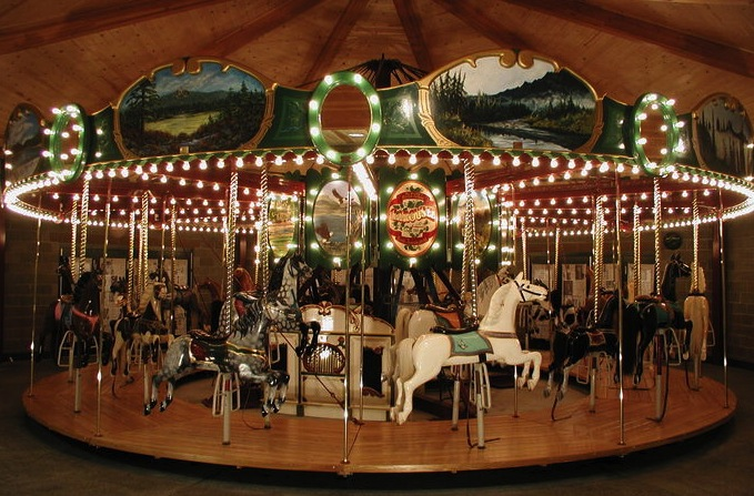Armitage-Herschell carousel