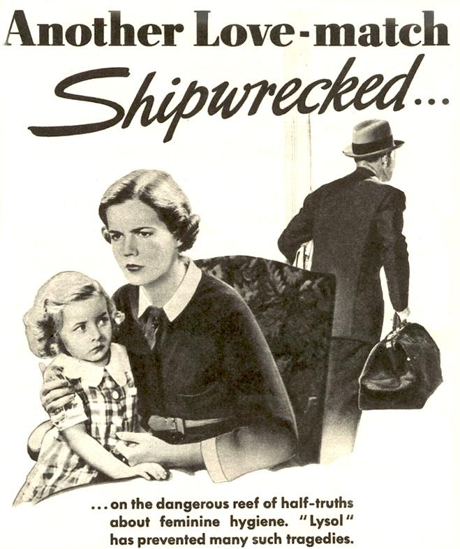 Image result for vintage ad lysol