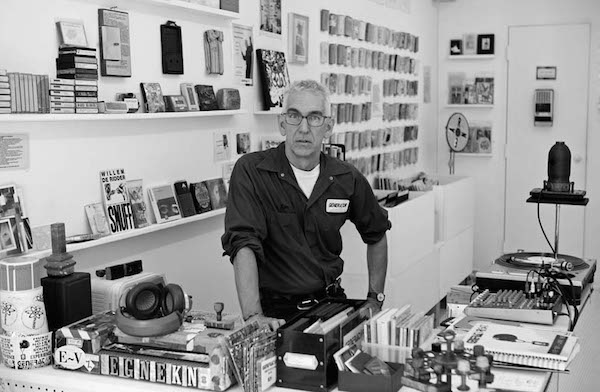 Gen Ken Montgomery, pictured in 2013, founded the Generations Unlimited cassette label and the Generator Sound Art Gallery in the 1980s. (Via the Living Archive of Underground Music)