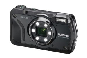 RICOH デジタルカメラ WG-6 ブラック