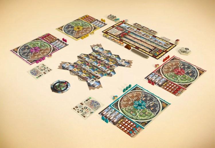 Despliegue del juego de mesa completo - setup