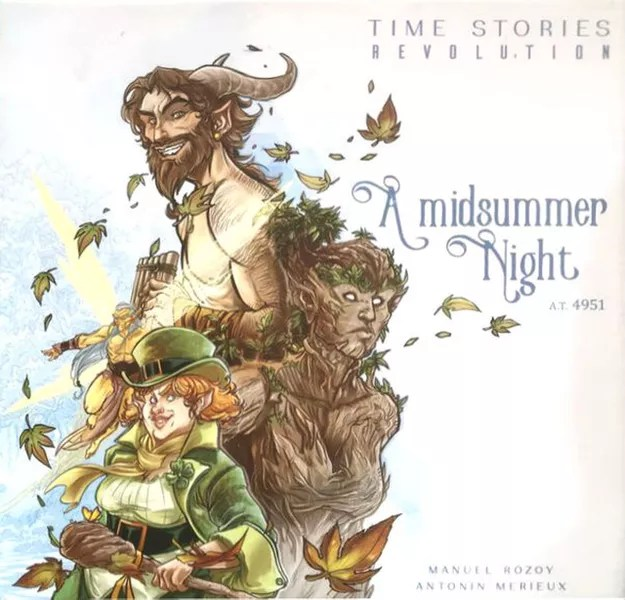 TIME Stories Revolution: A Midsummer Night, Space Cowboys, 2020 — front cover