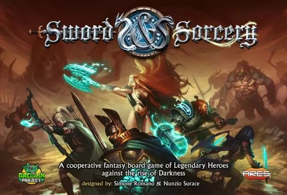 Image result for sword and sorcery board game