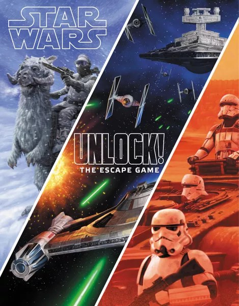 Star Wars UNLOCK!, Space Cowboys, 2020 — front cover (image provided by the publisher)