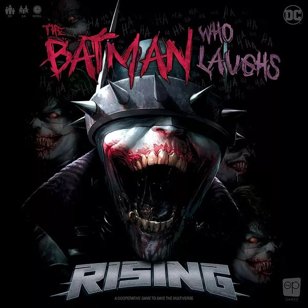 The Batman Who Laughs Rising, The Op, 2020 — front cover (image provided by the publisher)