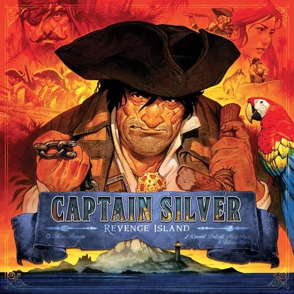 Treasure Island: Captain Silver – Revenge Island, Matagot, 2020 — front cover