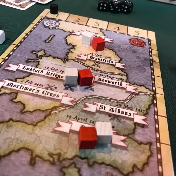Cousins War juego de mesa