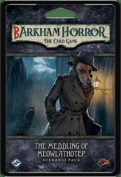 Barkham Horror: The Card Game – The Meddling of Meowlathotep, Fantasy Flight Games, 2020