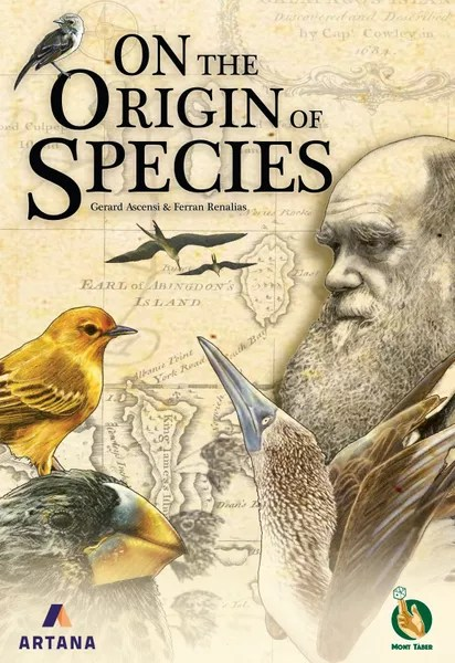 On the Origin of Species, Artana / Mont Taber, 2020 — front cover (image provided by the publisher)