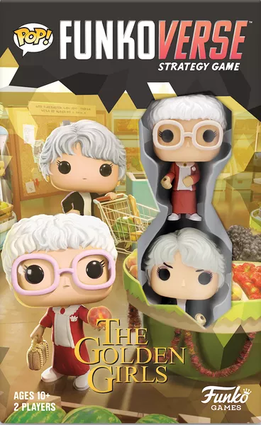 Funkoverse Strategy Game: Golden Girls GG101, Funko Games, 2020 — front cover
