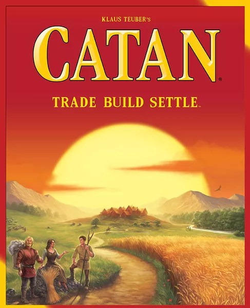 Catan, Mayfair Games, 2015 (image provided by the publisher)