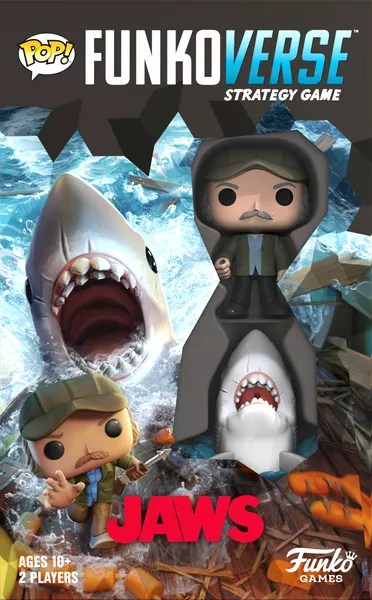 Funkoverse Strategy Game: Jaws 100, Funko Games, 2020 — front cover