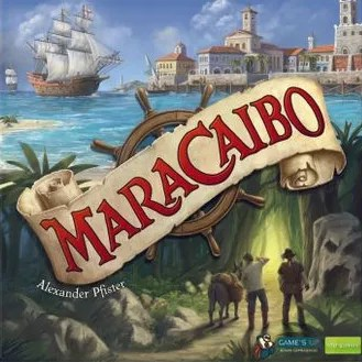Maracaibo, Game's Up/dlp games, 2019 — front cover