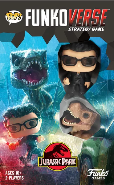 Funkoverse Strategy Game: Jurassic Park JP101, Funko Games, 2020 — front cover