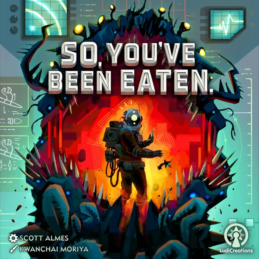 So You've Been Eaten Box Art