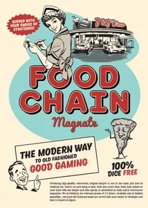 Food Chain Magnate Cover Artwork