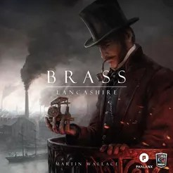Brass: Lancashire Cover Artwork