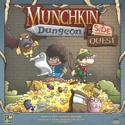 Munchkin Dungeon: Side Quest Cover Artwork