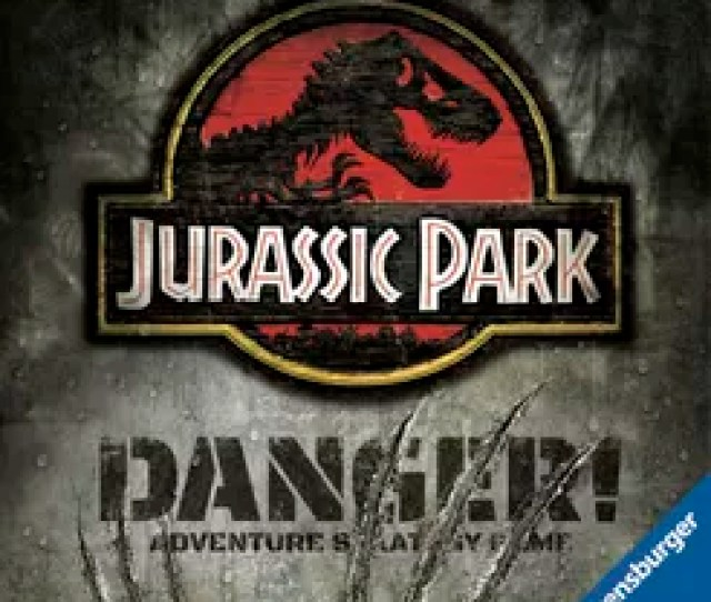 Jurassic Park Danger Adventure Strategy Game Board Game Boardgamegeek