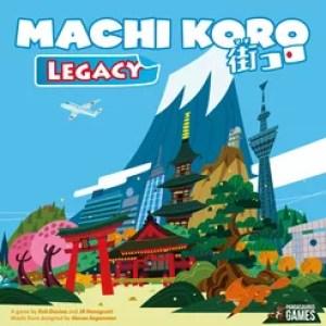 Devir Mayo Junio - Machi Koro Legacy