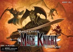 Mage Knight Board Game Cover Artwork