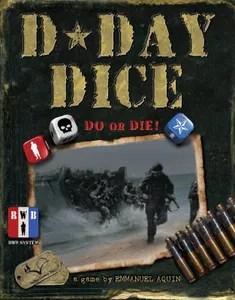 Caja D-Day Dice