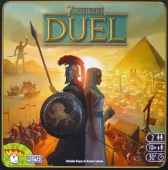 7 Wonders Duel Cover Artwork