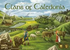 Clans of Caledonia Cover Artwork