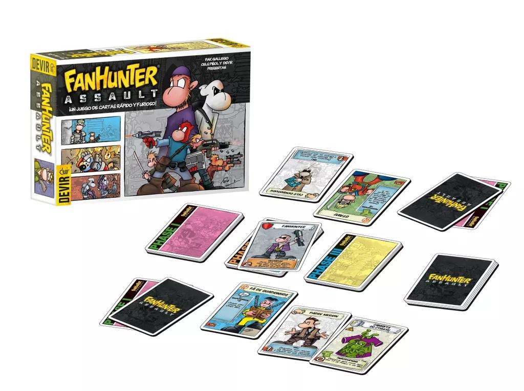 fanhunter assault juego de mesa