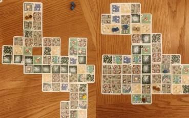 Komponen dari board game Hokkaido