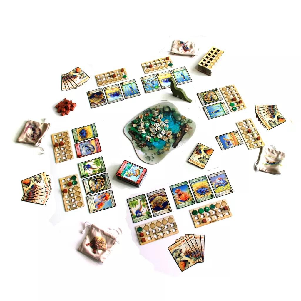 evolution juego de mesa
