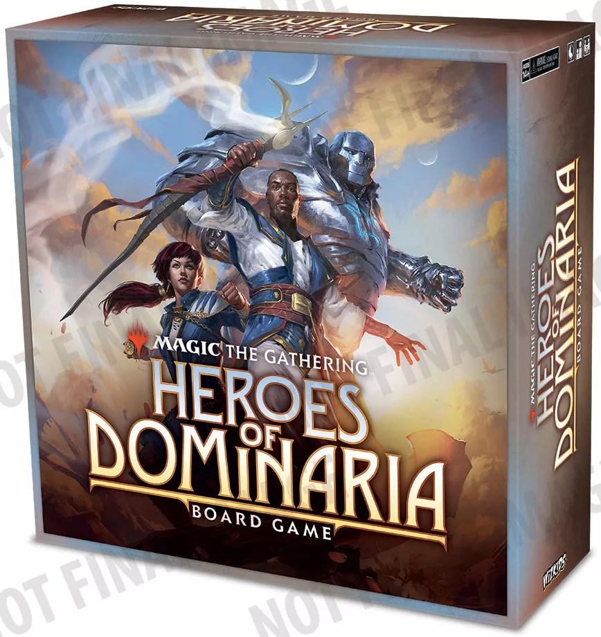 heroes of dominaria juego de mesa
