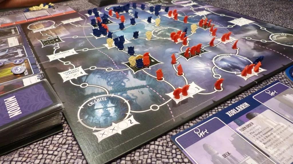 tyrants of the underdark juego de mesa